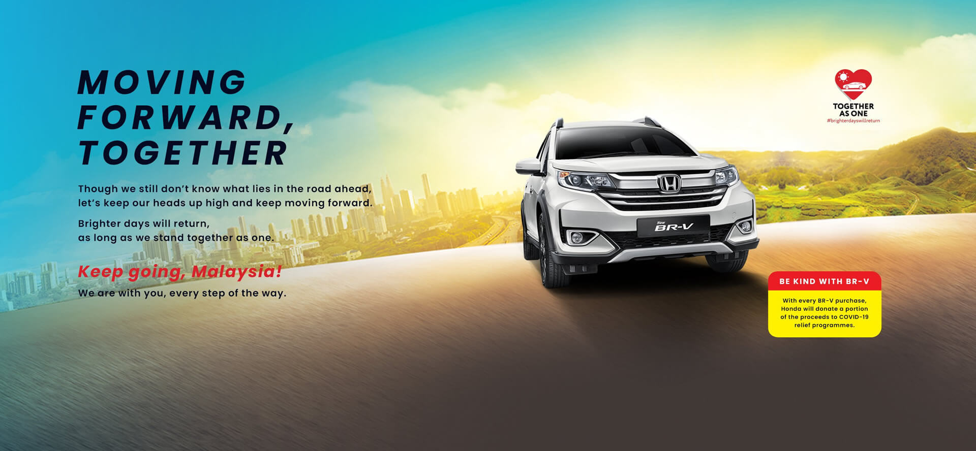 The All New Honda BR-V - Versatile For All