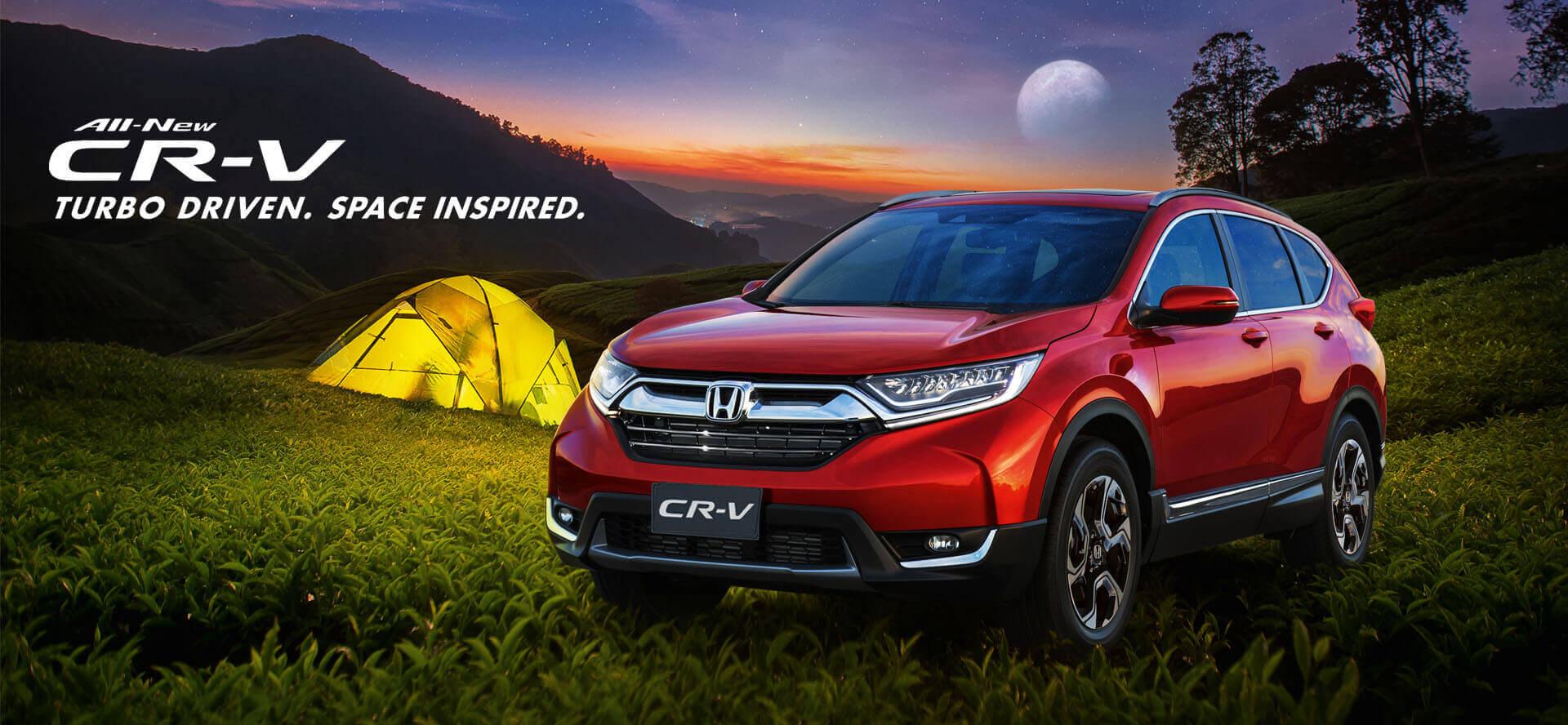The All New Honda CR-V - Supremacy Returns