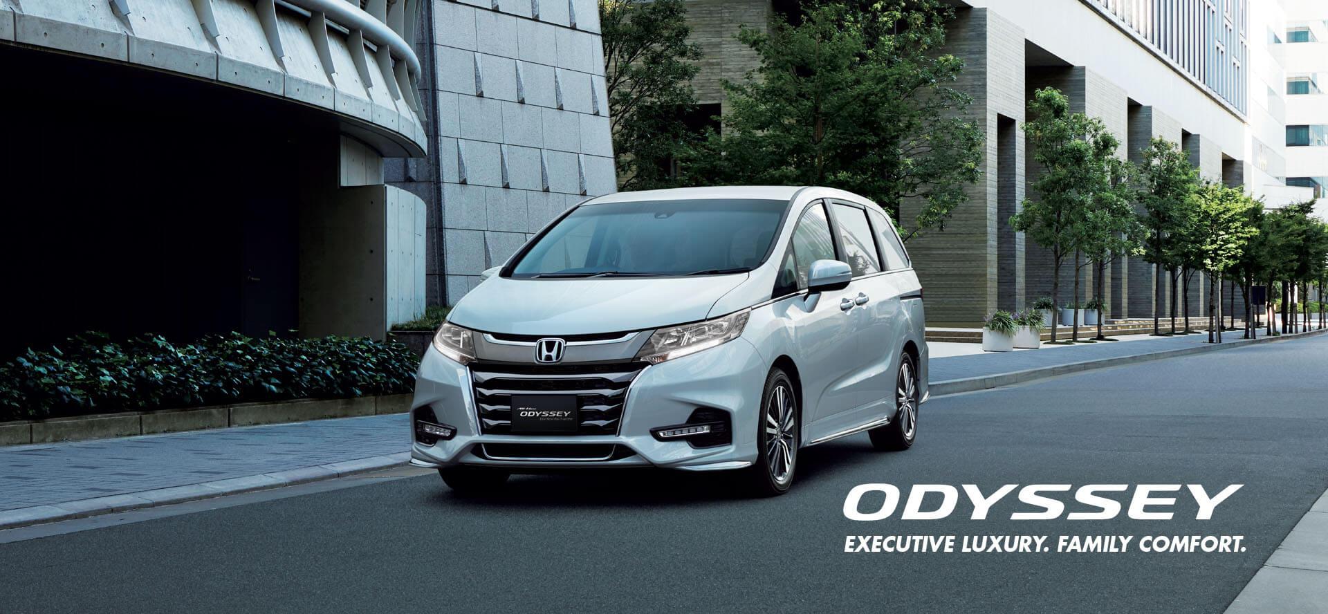 The All New Honda Odyssey - Executive Luxury, Family Comfort