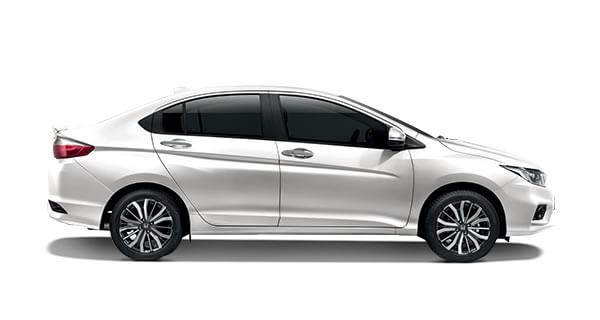 Honda City White Orchid Pearl