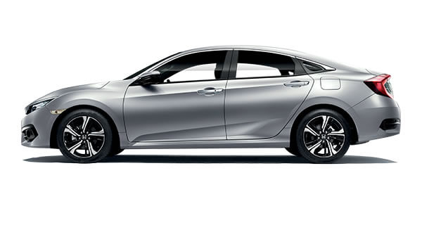 Honda Civic Lunar Silver Metallic