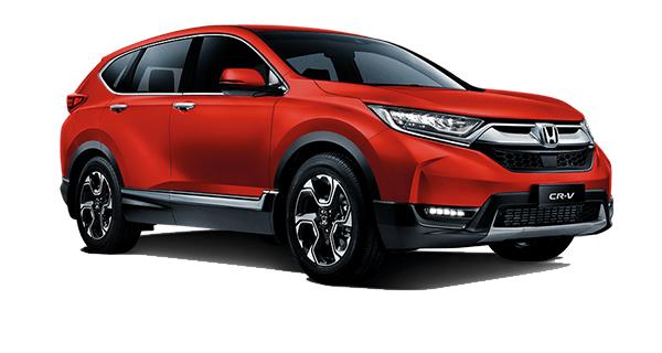 Honda CR-V Passion Red Pearl