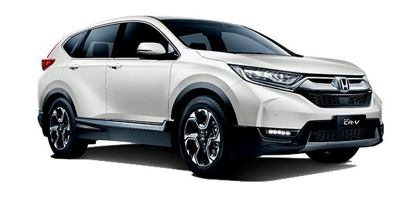 Honda CR-V White Orchid Pearl