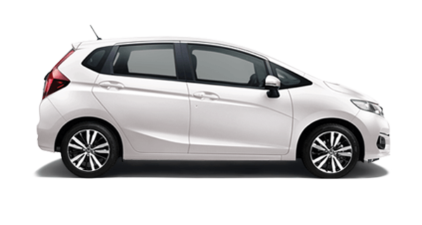 Honda Jazz White Orchid Pearl