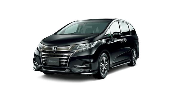 Honda Odyssey Premium Twinkle Black Pearl (NH-820P)
