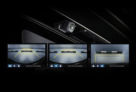 Multi-Angle Rear View Camera